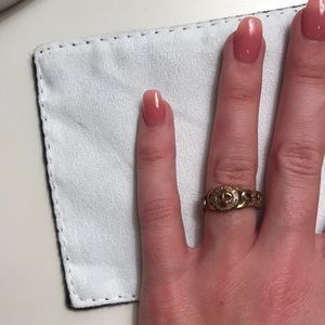 Marc Jacobs ring, rose gold size 7